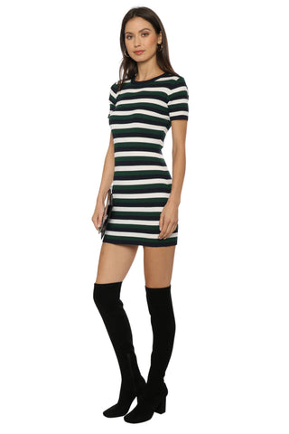 Sunday Stevens Stripe Knit Mini Dress