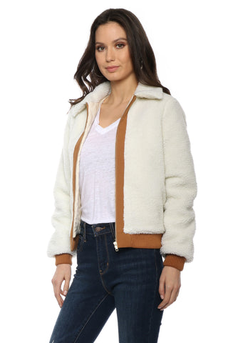 Lovers + Friends Simone Faux Fur Jacket