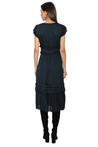 W.A.P.G Louvre Midi Dress