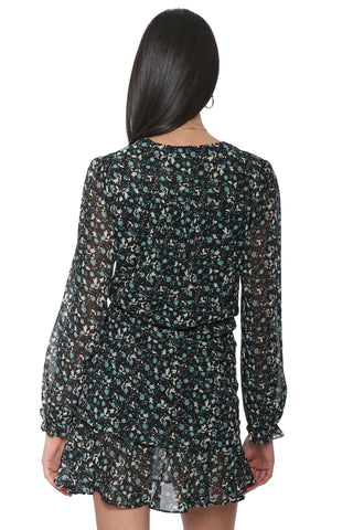W.A.P.G. Nothing But Flowers Mini Dress