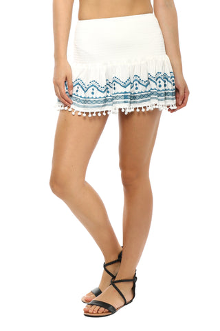 Gab & Kate Island Hopper Mini Skirt