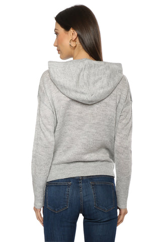 Sunday Stevens Star Knit Hoodie Sweater