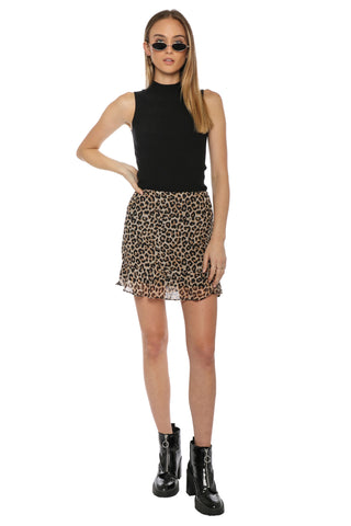 W.A.P.G. Wild One Mini Skirt