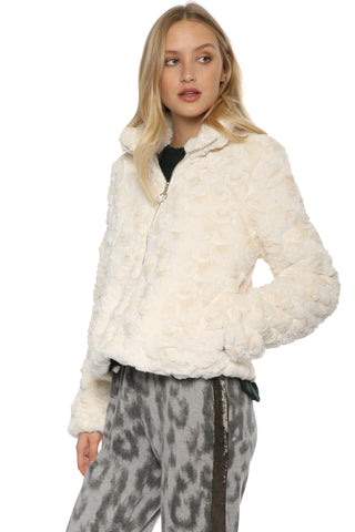 Robertson & Rodeo Faux Fur Zip Up Jacket