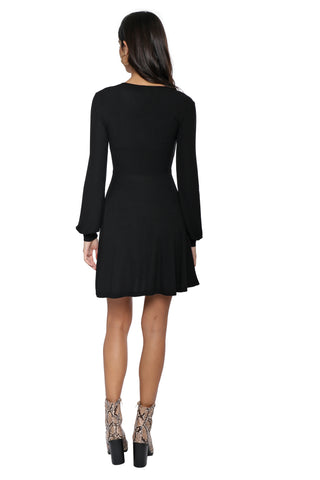 Z Supply The Micro Rib L/S Dress