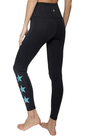 Strut This Star Ankle - Teal