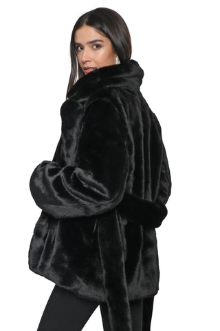 Decker Isabelle Faux Fur Jacket
