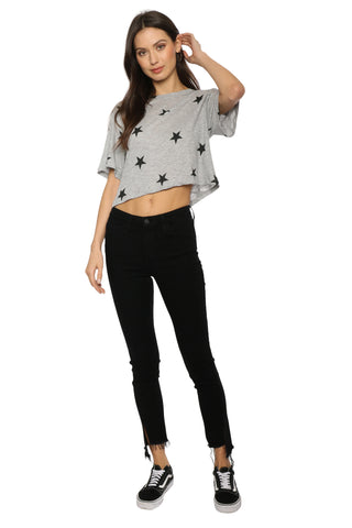 Brooklyn Karma Star Crop Tee
