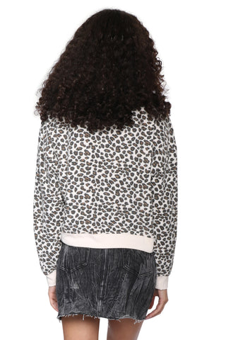 Z Supply The Multi Leopard Pullover