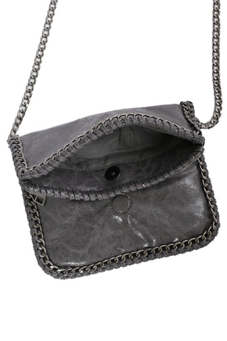 Chinchilly Chain Crossbody Bag