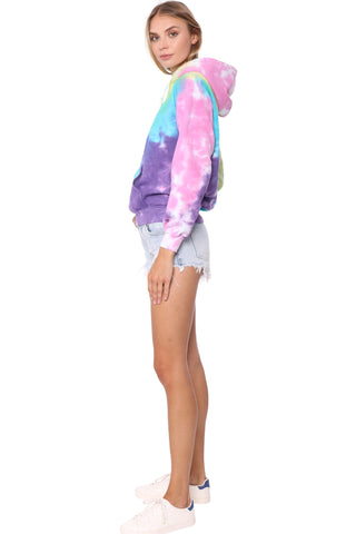 JET x Mixology Cotton Candy Tie Dye Hoodie
