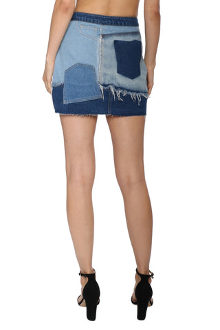 Gab & Kate Made The Cut Denim Skirt