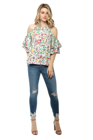 Darah Dahl In Full Bloom Top