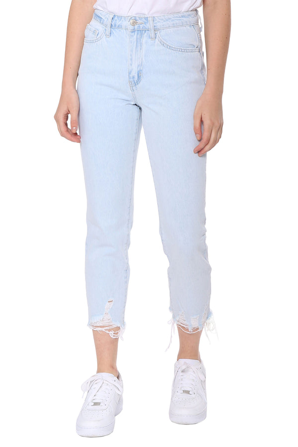 Super Hr Crop Straight Jean