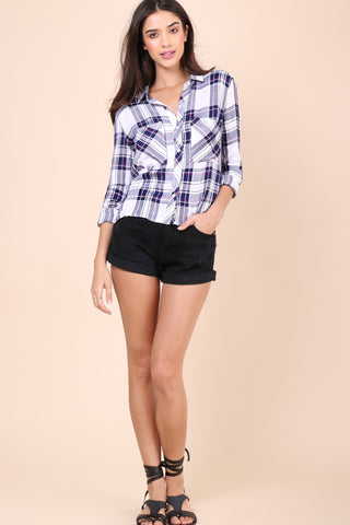 Rails Dylan Cropped Button Down