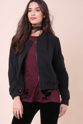 Decker Luxe Bomber Jacket