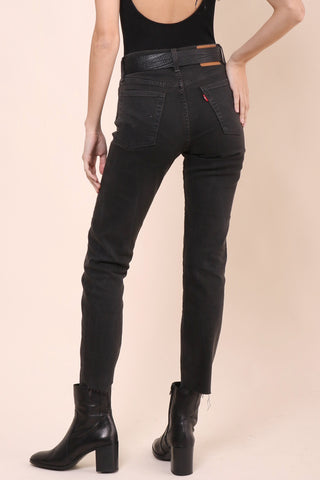 Levi's Wedgie Fit Premium Denim - Midnight Rain