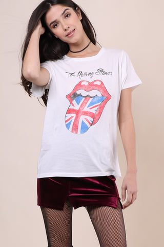 Daydreamer Rolling Stones Union Jack Tee