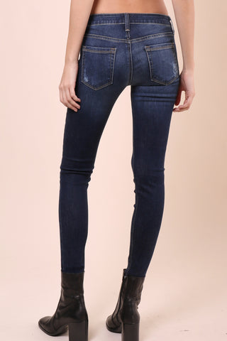 Just B Cut Off Cropped Skinny Jeans