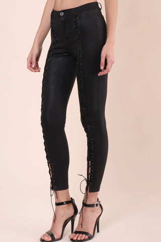 Brooklyn Karma Double Trouble Lace Up Pants