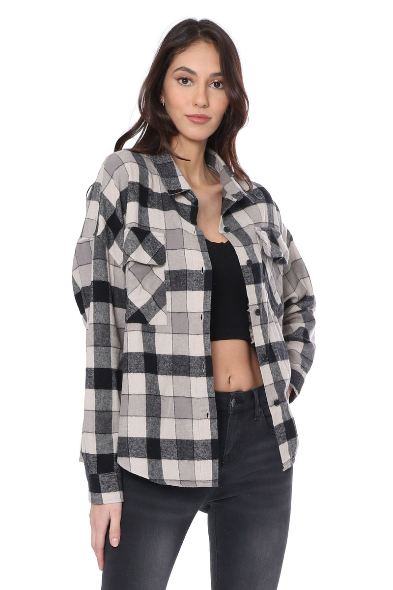 Want You So Plaid Shacket