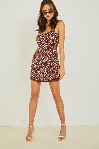 Gab & Kate CoCo Ruffle Mini Dress