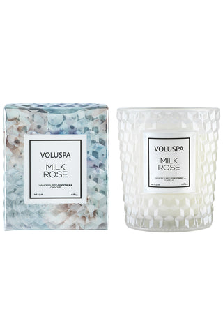 Voluspa Milk Rose Classic Candle