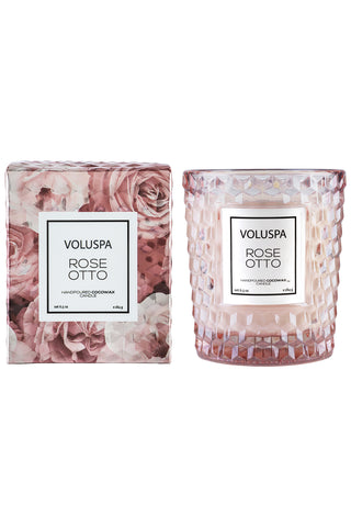 Voluspa Rose Otto Classic Candle