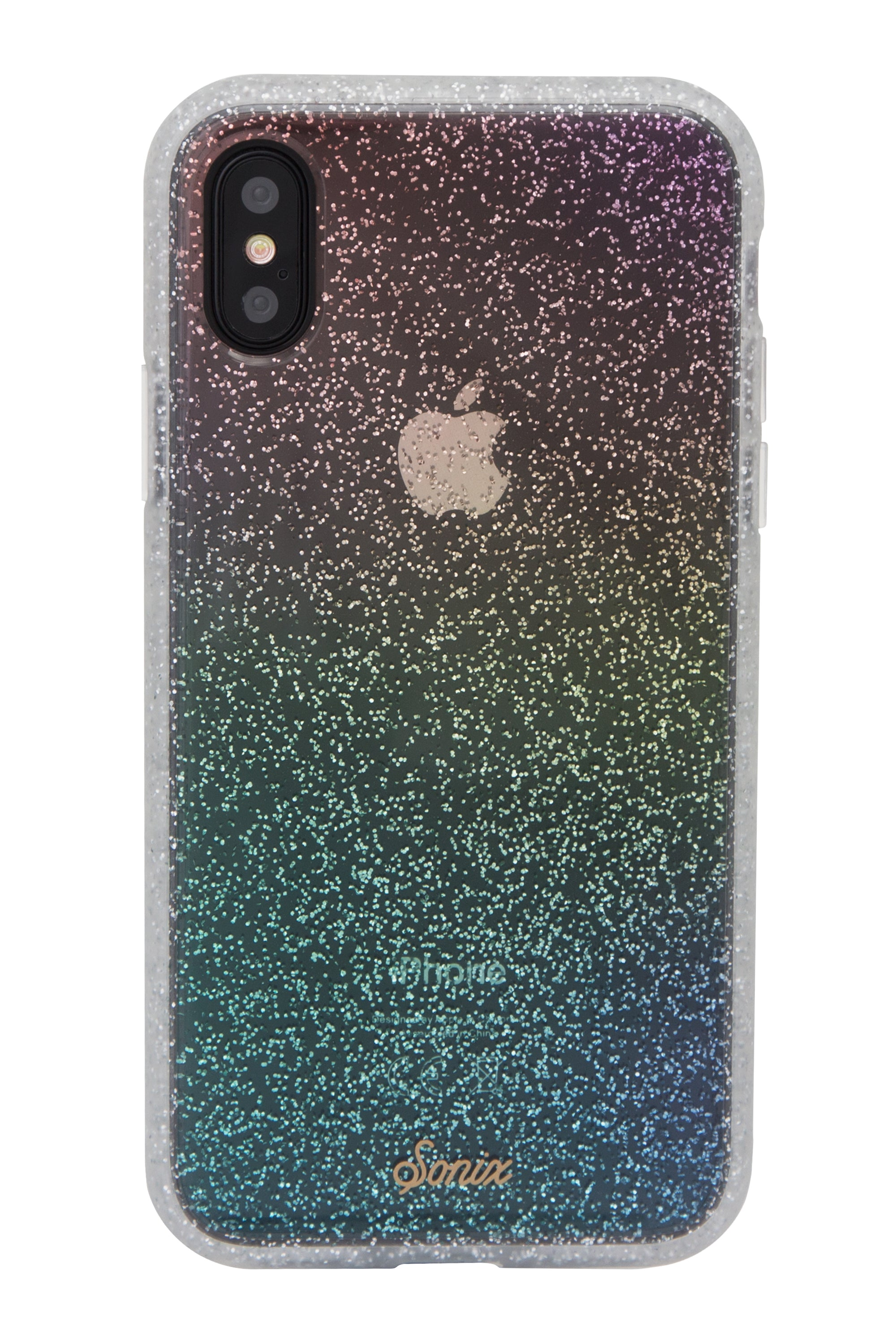 huge discount ed16e a2615 Sonix Rainbow Glitter XS/S iPhone Case