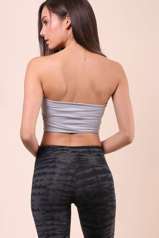 Suzette Ribbed Criss Cross Bandeau