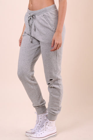 Brooklyn Karma Distressed Joggers