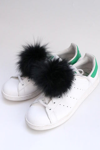 Jocelyn Fur Shoe Poms