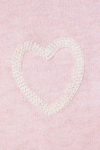 Decker Luxe Heart On Pocket Sweater
