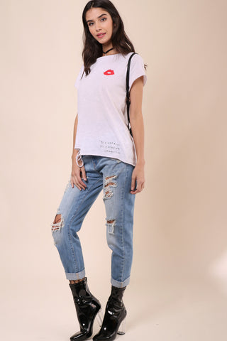 Junk Food x Donald Robertson Lips Tee