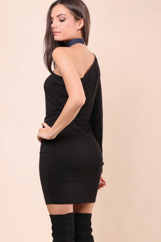 Jet X Mixology One Shoulder Dress