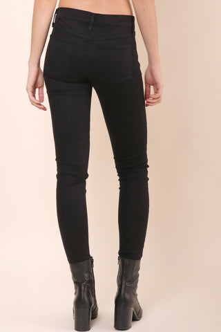 Flying Monkey Distressed Black Skinny