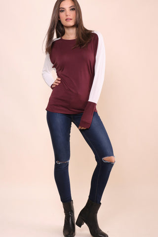 Decker Color Block Top