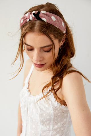 Gab & Kate Polka Dot Headband