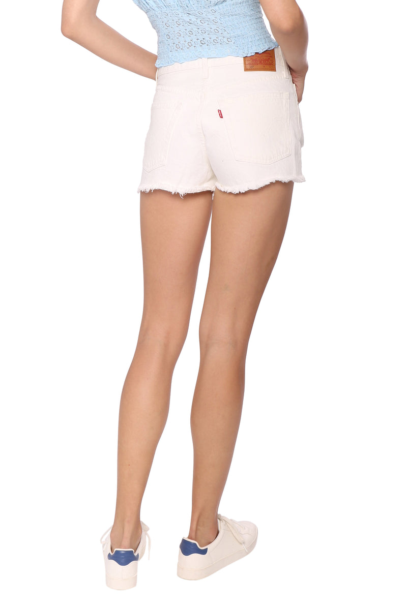 Levi's 501 Shorts Pearly White
