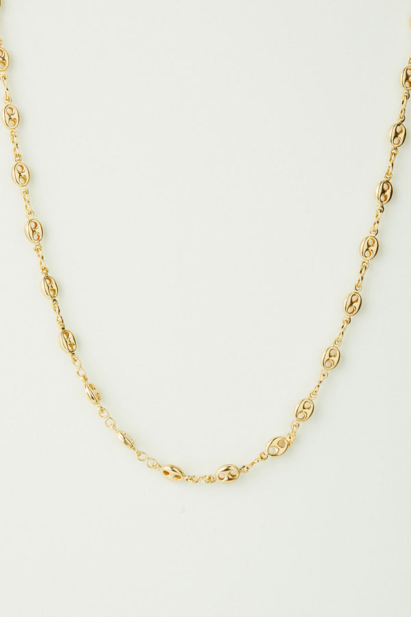 Ava Puff Chain Necklace
