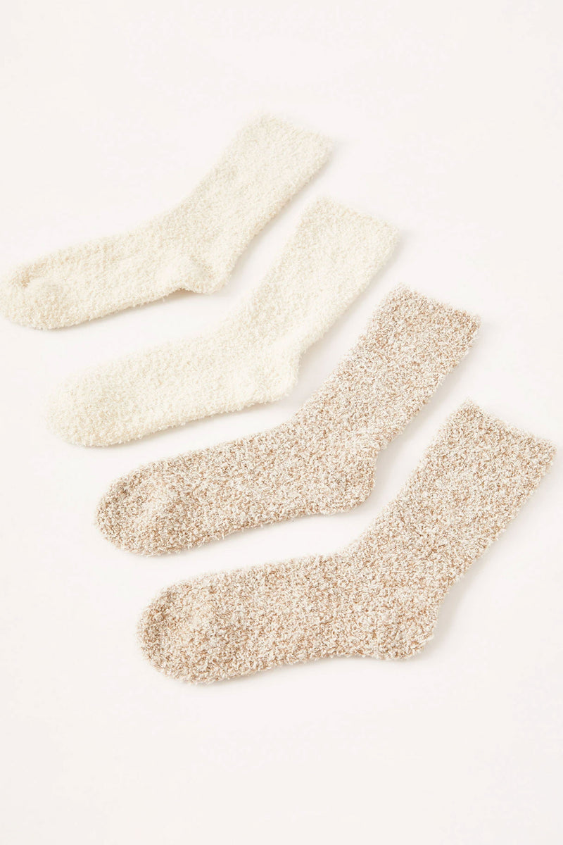 2 Pack Plush Socks