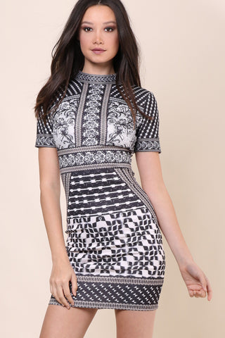 Darah Dahl Paris Nights Dress