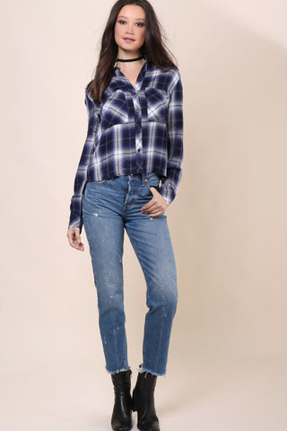 Rails Dylan Crop Button Down