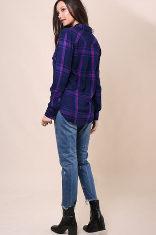 Rails Ultraviolet Hunter Buttondown Shirt