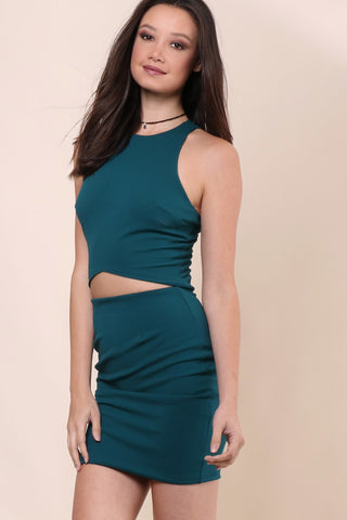 Jack Meets Kate Emerald Brooklyn Dress