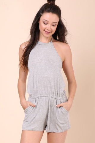 Jac Parker Everyday Romper - Grey