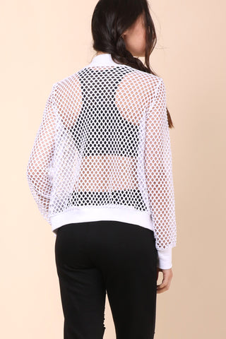Brooklyn Karma Net My Problem Bomber Jacket