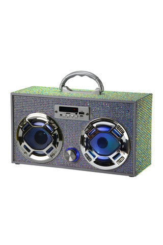 Wireless Exp Bling Mini Boom Box