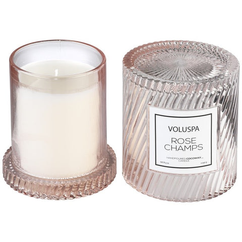 Voluspa Rose Champs Icon Candle