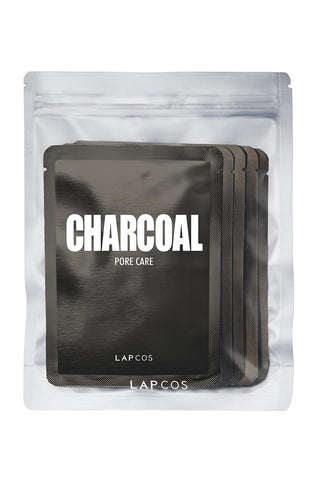 LAPCOS Charcoal Face Mask 5 Pack
